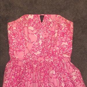 Lilly Pulitzer Strapless Dress-Offer/Bundle toSave